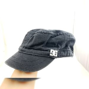 DC Short Bill Cotton Hat Black